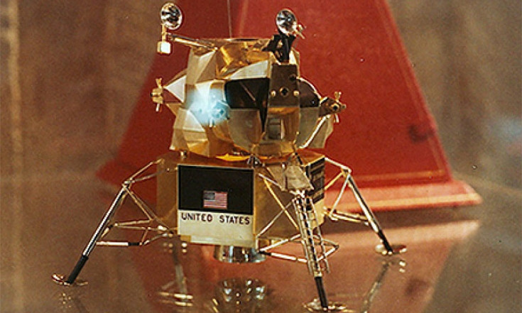 Neil Armstrong`s gold Apollo lunar module model stolen from Ohio...