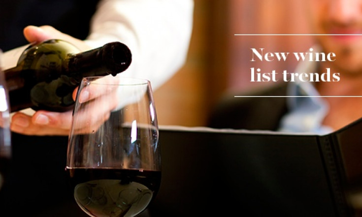 New Wine List Trends