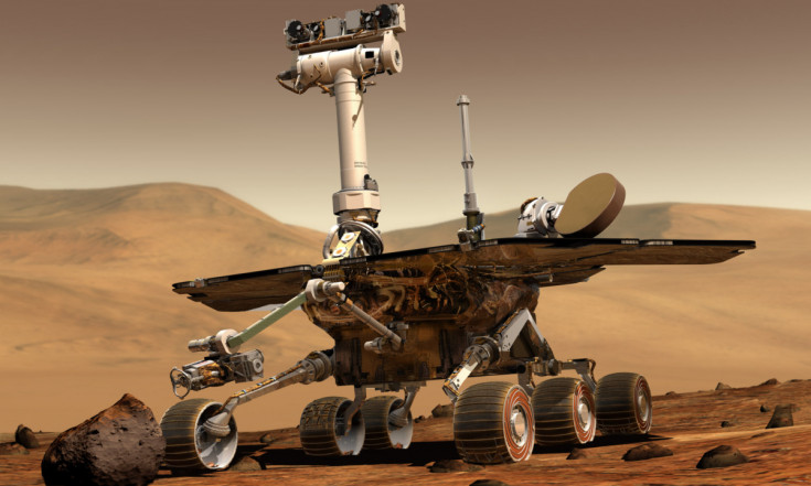 Opportunity Mars Rover Wheels Past 14 Years of Exploration