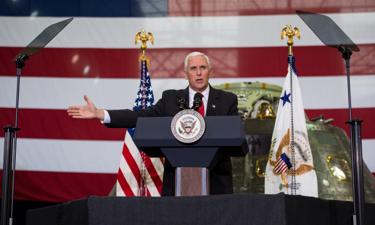 Pence Calls for Return to the Moon, Boots on Mars