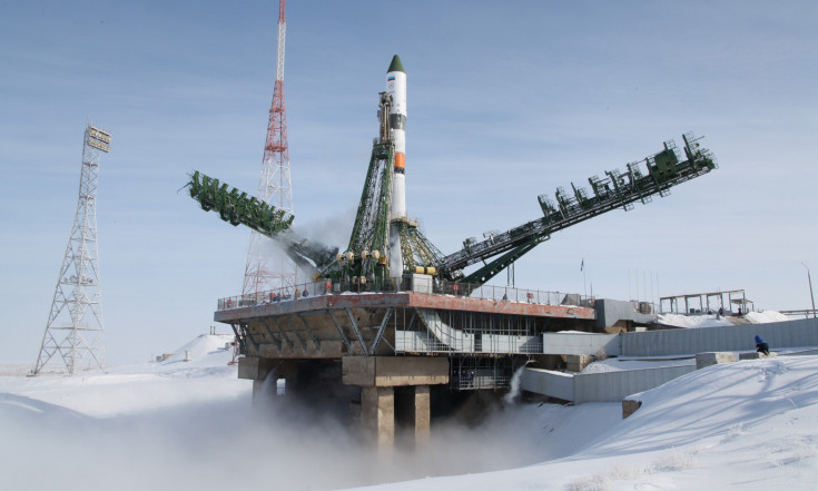 Photos: Soyuz Rockets Skyward in the Dead of Winter with Progress Cargo Spacecraft – Progress MS-08 | Spaceflight101