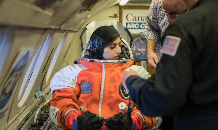 Private Spacesuit Undergoes Zero-G Testing to Prepare for Commercial Flights