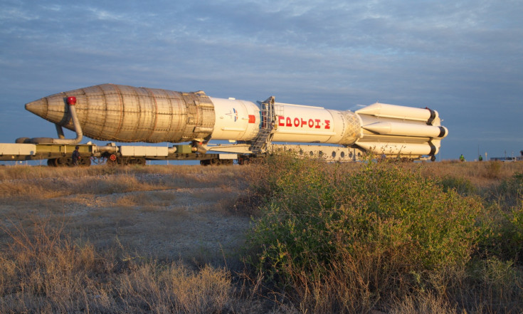 Roscosmos Shares Photos of Secretive Proton Launch Campaign with...