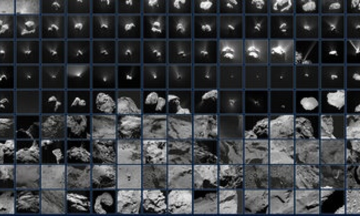 Rosetta`s ever-changing view of a comet
