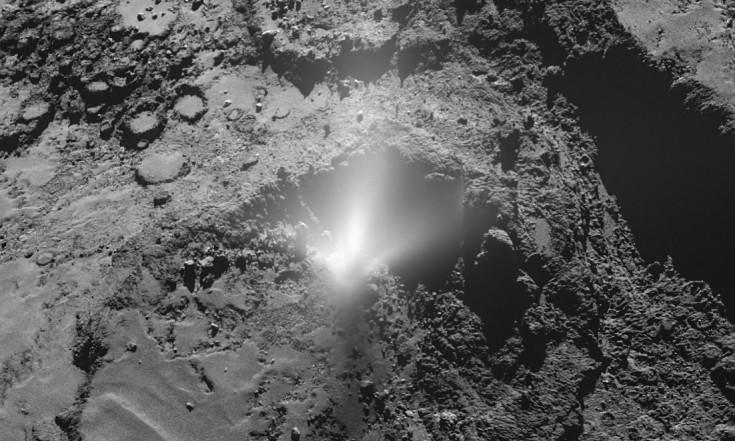 Rosettas Komet Churyumov-Gerasimenko ist explosiv veranlagt - Abenteuer Astronomie