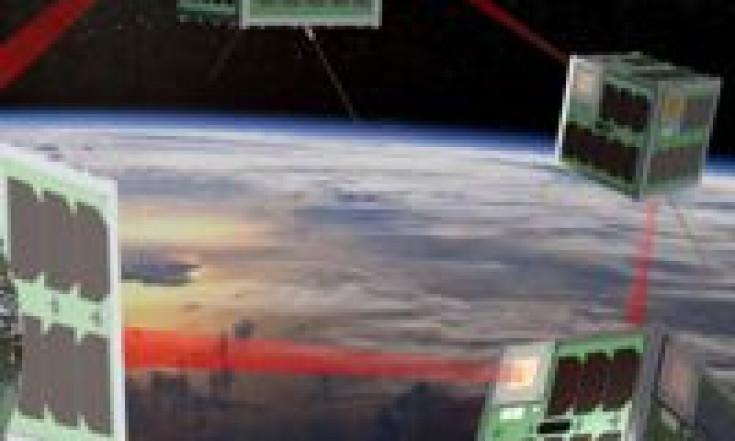 S-NET: Nanosatelliten machen gemeinsame Sache