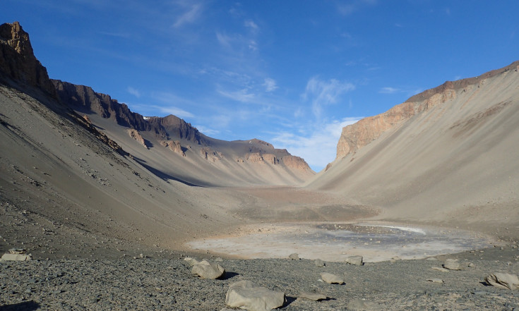 Salty Antarctic pond could be a replica of Mars` water - Astrobiology Magazine