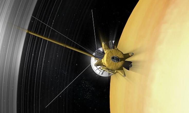 Saturn: Das letzte Bild von Cassini