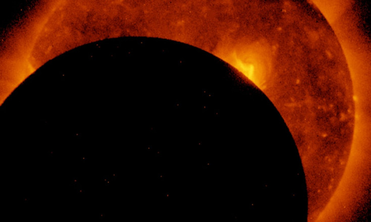 See NASA Satellites` View of Great American Solar Eclipse (Video)
