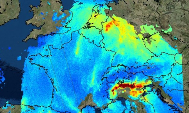 Sentinel-5P brings air pollution into focus