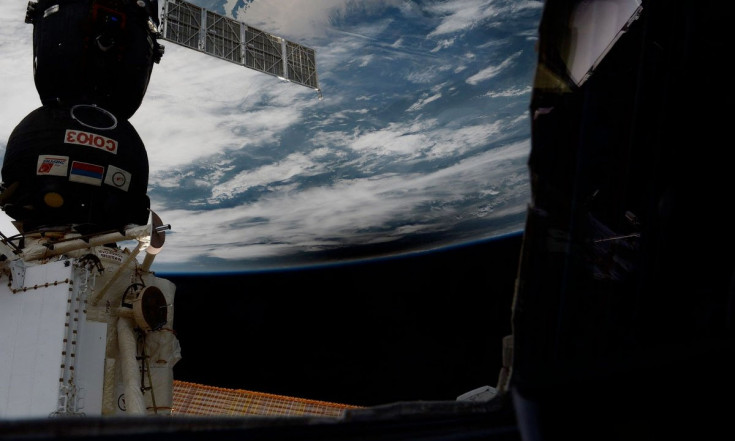 Solar eclipse from orbit: Crew on space station sees moon`s...