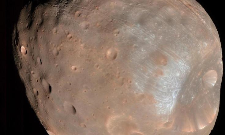 Solar Wind Creates Electric Charge on Martian Moon Phobos