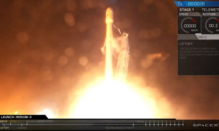 SpaceX Launches 10 New Iridium Satellites, Sticks Rocket Landing