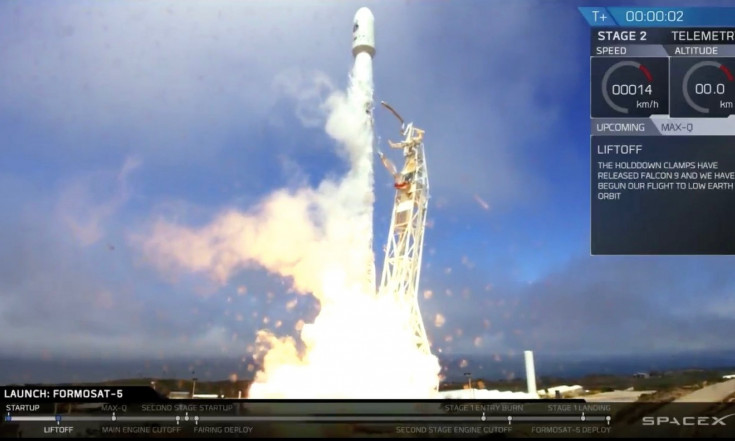 SpaceX Launches Earth-Observing Satellite, Lands Rocket on Ship...