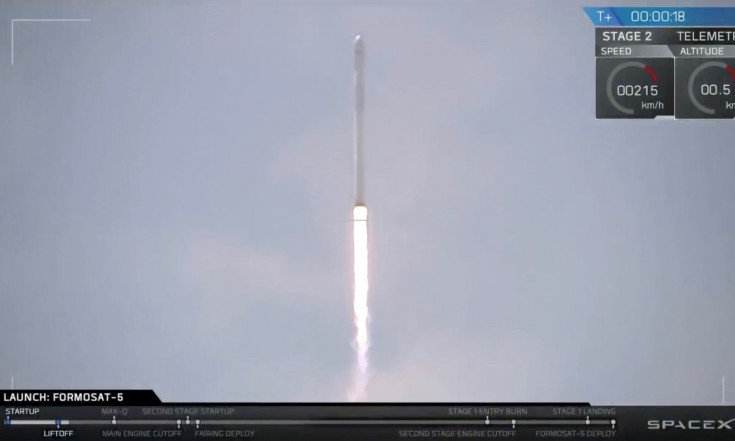 SpaceX Launches Formosat-5 Satellite, Lands Rocket (Photos)