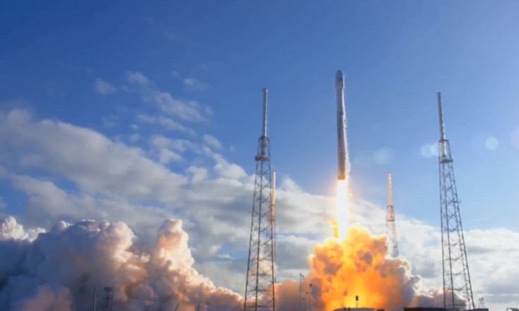 SpaceX Launches Satellite Into Orbit on a Used Falcon 9 Rocket