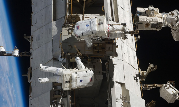 Station Crew Gearing Up for Three October Spacewalks