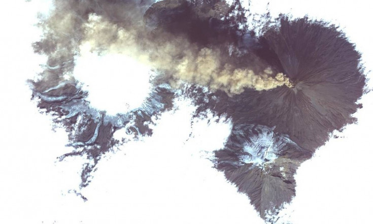 Stunning Satellite Photo Reveals Volcanic Eruption Near Alaska