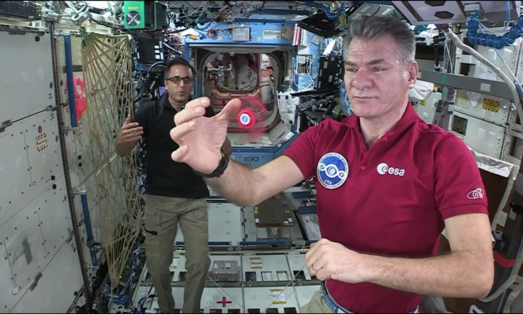 Teacher-Astronauts Helm NASA`s Year in Education Aboard the Space Station