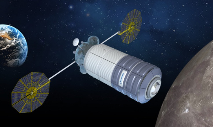 Thales Alenia working with three companies on Deep Space Gateway concepts - SpaceNews.com