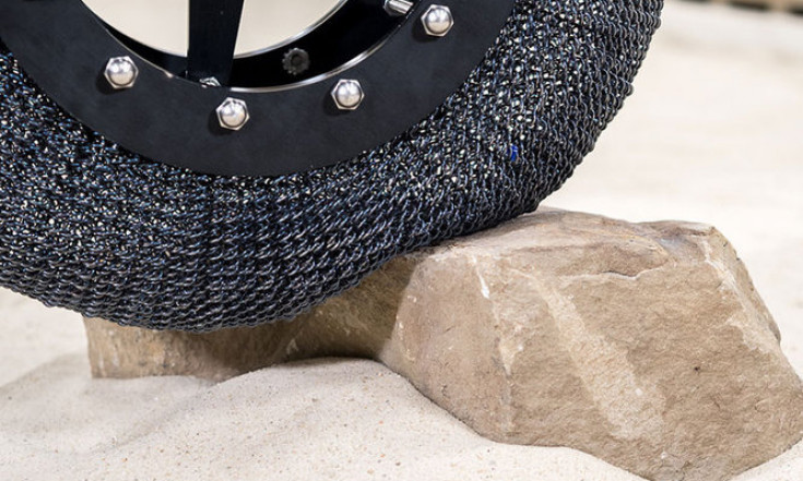 The Evolution of NASA`s Mars Rover Tires in Pictures