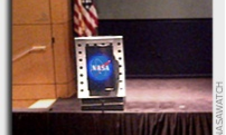The NASA Podium Is Still Empty