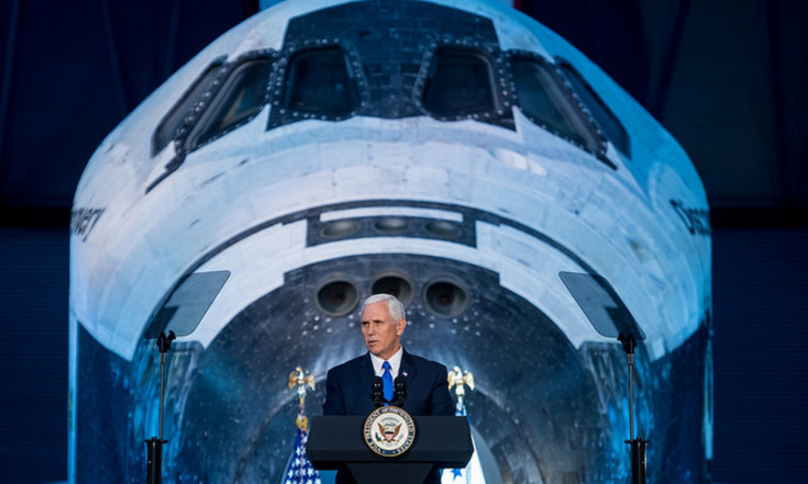 The Next Giant Leap: US Will Return to the Moon, Pence Says