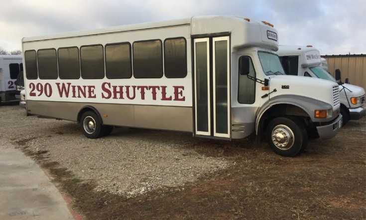 The Wine Shuttle in Texas That Visits 14 Wineries in a Day is...