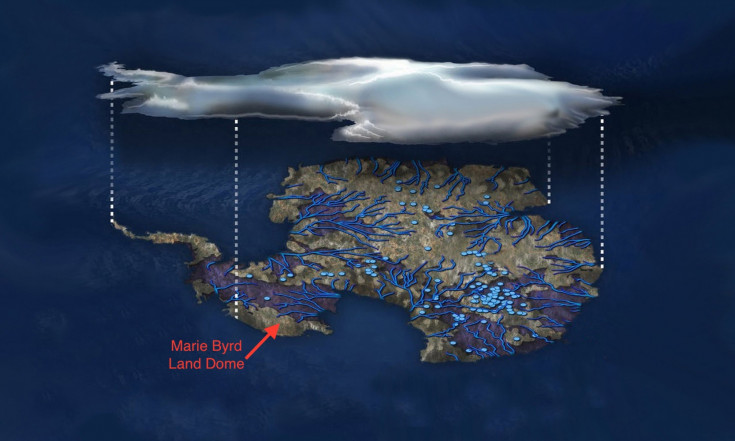 There`s a Huge Plume of Magma Bulging Against Antarctica