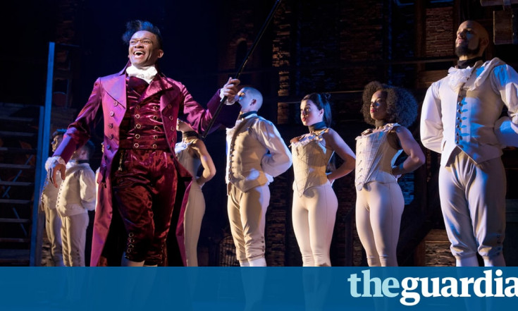 `This isn`t colour-blind casting`: Hamilton makes its politically charged West End debut