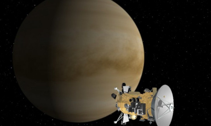 Today in Space! June 24, 1999: Cassini Flies by Venus
