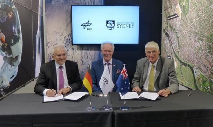 University of Sydney und DLR vereinbaren Zusammenarbeit im Raumfahrtbereich