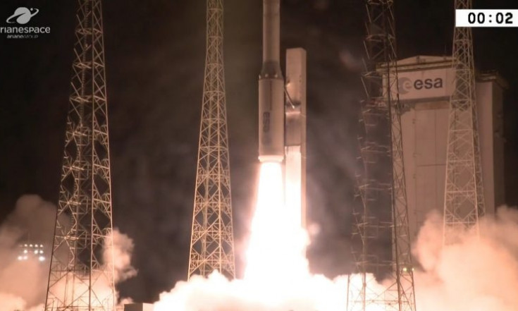 Video: Vega ups to 10/10 with successful Nighttime Launch from...