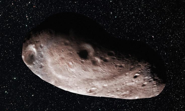 Was man vom Schatten eines fernen Asteroiden lernen kann