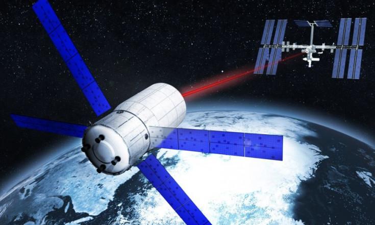 Weltraumschrott: Trümmerteile mit Laser im Visier