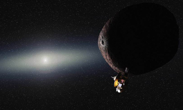Wow! See New Horizons` Next Flyby Target Blot Out a Star`s Light