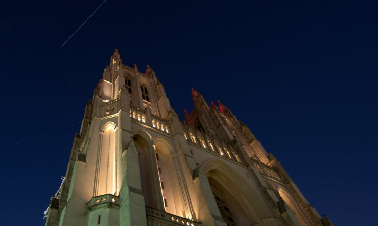 Wow! Space Station Streaks Over Cathedral in Gorgeous Photo
