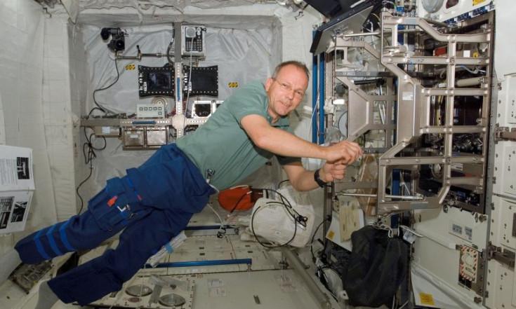 """Zehn Jahre Raumlabor """"Columbus"""": Wie Astronaut Schlegel seinen wichtigsten Einsatz verpasste - SPIEGEL ONLINE - Wissenschaft"""