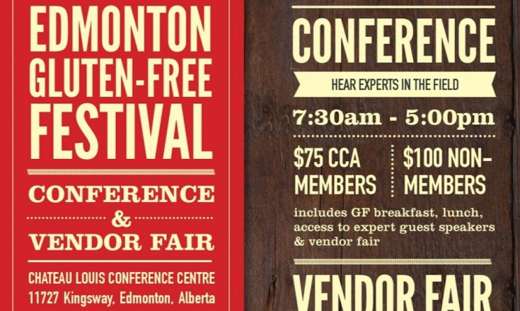 2017 Edmonton Gluten Free Festival - Conference and Vendor Fair