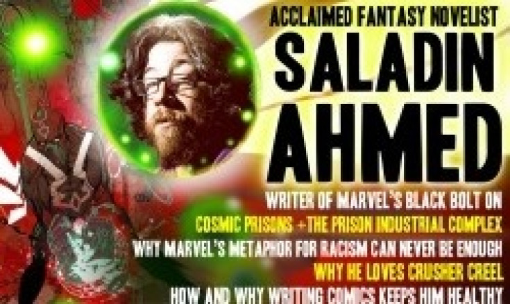 MF GALAXY: SALADIN AHMED ON WRITING BLACK BOLT, INFLUENTIAL...