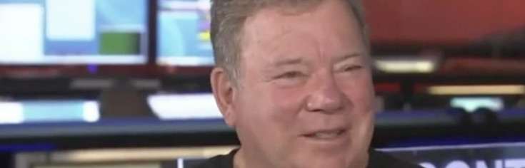 William Shatner Beams a Message to NASA Voyager Probes for 40th...