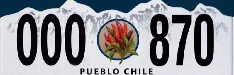 Pueblo Chile license plate wins in Colorado House