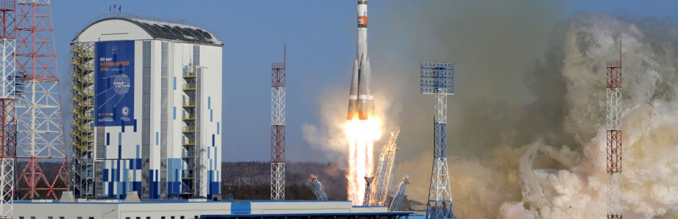 Photos: Soyuz Thunders Off from Snow-Covered Vostochny Cosmodrome – Spaceflight101
