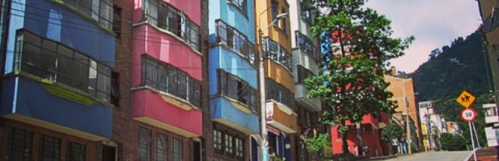 I really enjoyed this article. Bogota somewhat reminds me of Seoul, S.Korea with its hilly nature. I love the colors of these buildings too and the fact that there is a vibrant life 'on the street' (during the day anyway).Where to live in Bogotá - How to Bogotá