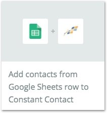How To Build An Email List: Zapier Google Sheets To Constant Contact