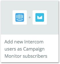 How To Build An Email List: Zapier Intercom To Campaign Monitor