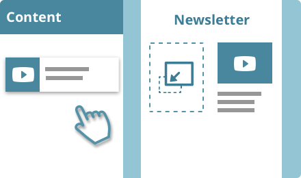 Newsletter Creator Software Drag And Drop Rich Content